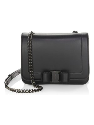 Salvatore Ferragamo small vara rainbow leather crossbody bag