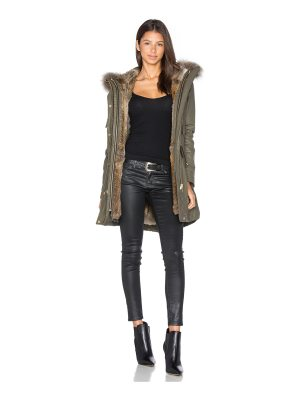 SAM. Tribeca Parka with Rabbit and Asiatic Raccoon Fur