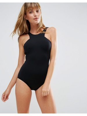 Seafolly Active High Neck Swimsuit