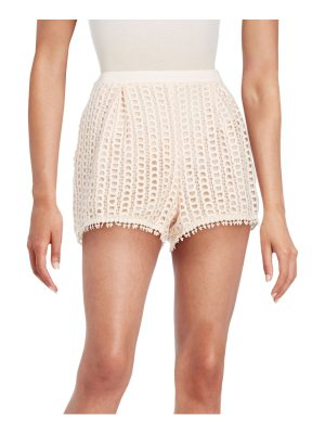 See By Chloe Regular-Fit Lace Shorts