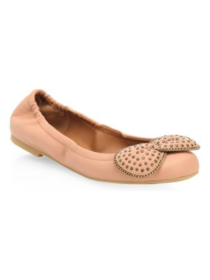 See By Chloe studded leather ballet flats