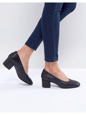 Selected Heeled Court Shoe