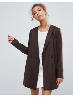 Selected Valina Wool Blend Double Breasted Blazer