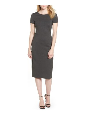 SENTIMENTAL NY ponte sheath dress
