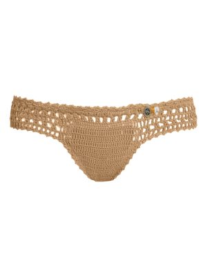 SHE MADE ME essential mini hipster crochet bikini briefs