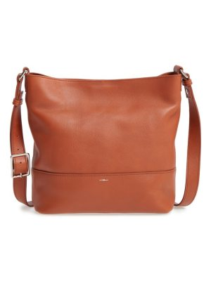 Shinola small relaxed leather hobo bag