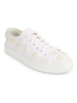Simone Rocha beaded lace-up sneakers