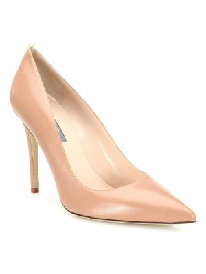 SJP by Sarah Jessica Parker fawn leather point toe pumps