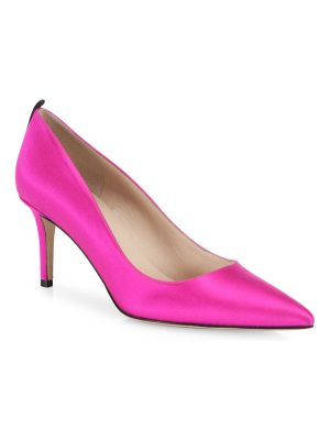 SJP by Sarah Jessica Parker fawn satin point toe pumps