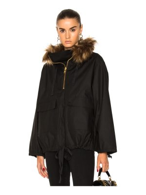 Smythe Anorak With Faux Fur