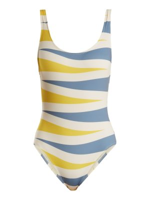 Solid & Striped the anne marie backgammon print swimsuit