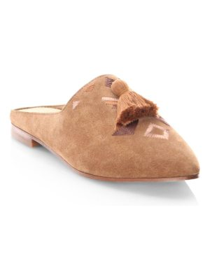 Soludos palazzo leather mules
