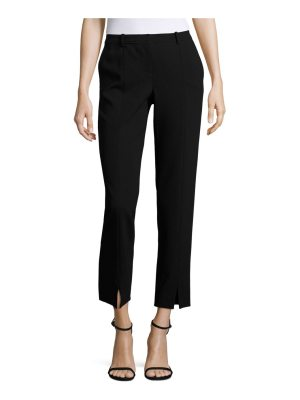 St. John jennifer ankle slit pants