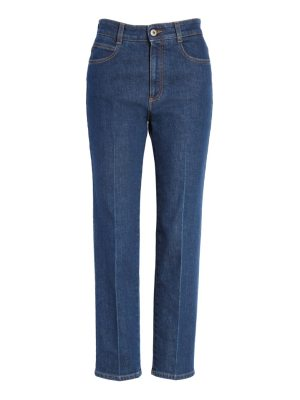 Stella McCartney crop skinny jeans