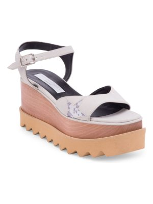 Stella McCartney elyse star-print wedges
