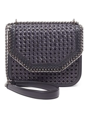 Stella McCartney falabella box wicker basket crossbody bag