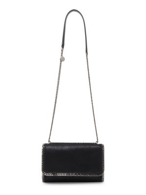 Stella McCartney falabella large shaggy deer faux leather crossbody bag