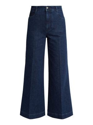 Stella McCartney High-rise wide-leg culottes