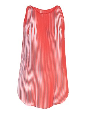 Stella McCartney Sloane pleated crepe top