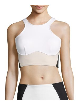 Stella McCartney stella inconic miracle cropped top