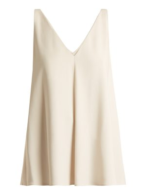 Stella McCartney Sutton V-neck crepe top