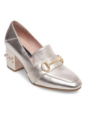 Steven by Steve Madden Layla Leather Horsebit Loafer