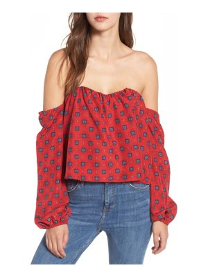 STONE COLD FOX anita off the shoulder top