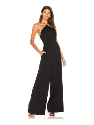 T by Alexander Wang Crepe Chain Jumpsuit