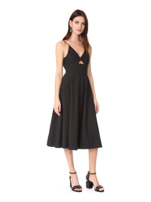 T by Alexander Wang dress with front keyhole
