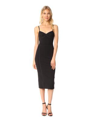 T by Alexander Wang sleeveless fitted dress