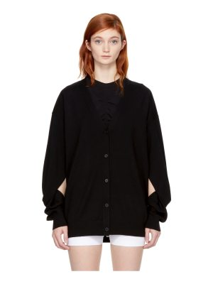 T by Alexander Wang Twisted Sleeve Cardigan