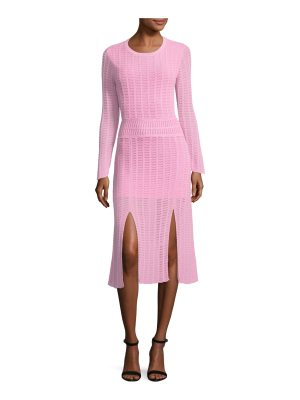TABULA RASA Mineras Crewneck Knit Dress