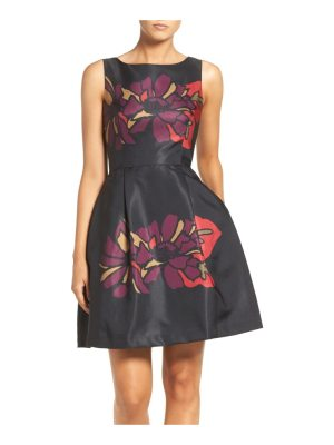 Taylor Dresses placed floral fit & flare dress
