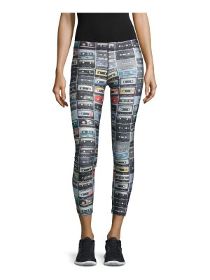 Terez Mix Tape Performance Leggings