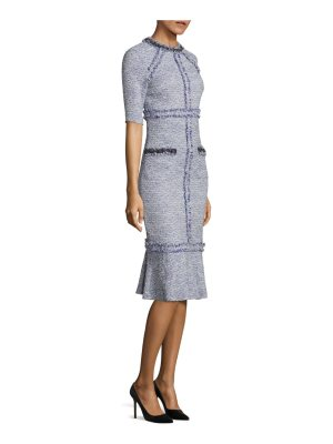 Teri Jon classic boucle dress