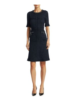 Teri Jon short-sleeve sheath dress