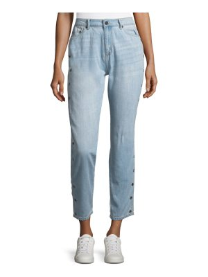 The Fifth Label Side-Button Cropped Jeans