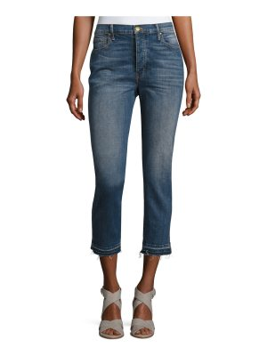 The Great The Fellow Cropped Denim Jeans