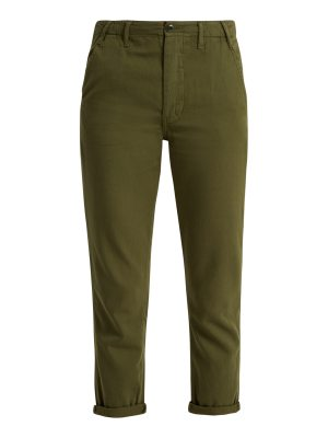 The Great The Miner Low Slung Cotton Trousers