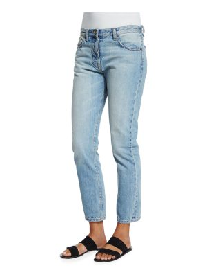 THE ROW Ashland Slim-Leg Ankle Jeans
