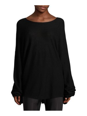 THE ROW bandal cashmere top