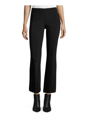 THE ROW Beca Cropped Boot-Cut Pants