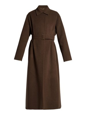 THE ROW Luster double-faced long-line wool coat
