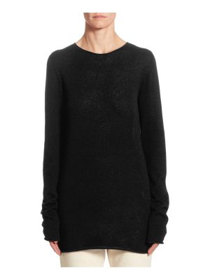 THE ROW nolita cashmere & silk top