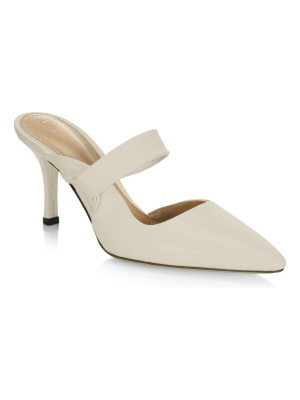 THE ROW pointed leather pumps