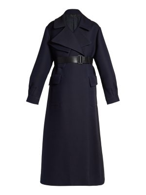 THE ROW Ramsta double-faced wool-blend long-line coat