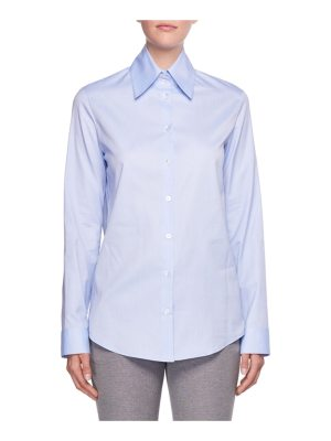 THE ROW Ravia Button-Front Cotton Shirt
