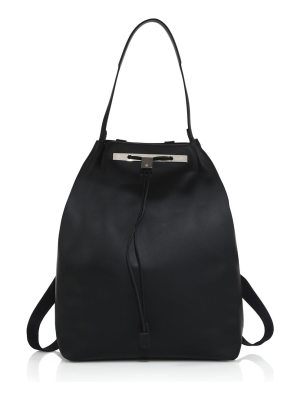 THE ROW smooth leather backpack 11