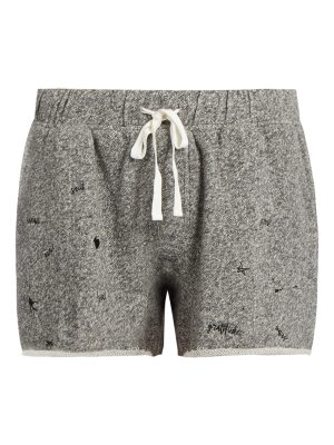 THE UPSIDE Maui embroidered-motif shorts