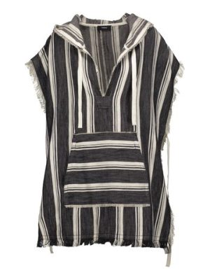 Theory asmid striped cotton and linen